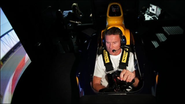 Inside The Red Bull Simulator With DC For A Lap In Austin Tx
