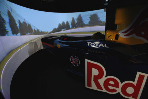 The Red Bull Simulator where the drivers learn to win