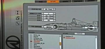 rfactor menù, f1 simulator, drivers f1 teams