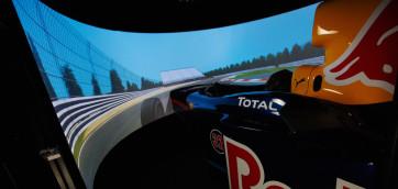 f1 red bull simulator rfactor