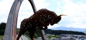 The Red Bull ring spielberg austria f1 race track