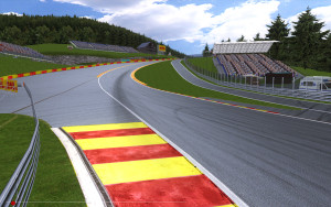 spa franchorshamps circuit rfactor f1 simulator belgian grand prix 2015