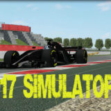 rFactor F1 2017 Simulator Already Testing