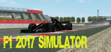 rfactor-F1 2017-F1 Simulator-F1 2017 physics-Accurate simulator