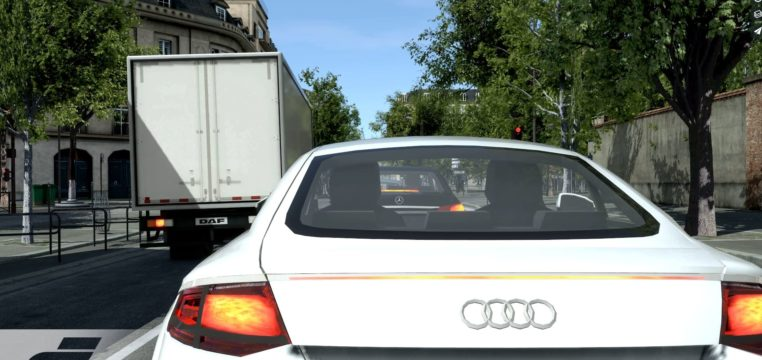 rfpro simulator - road street model-automotive