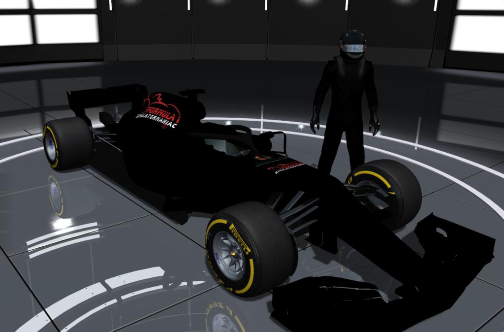 F1 2018 simulator model concept halo