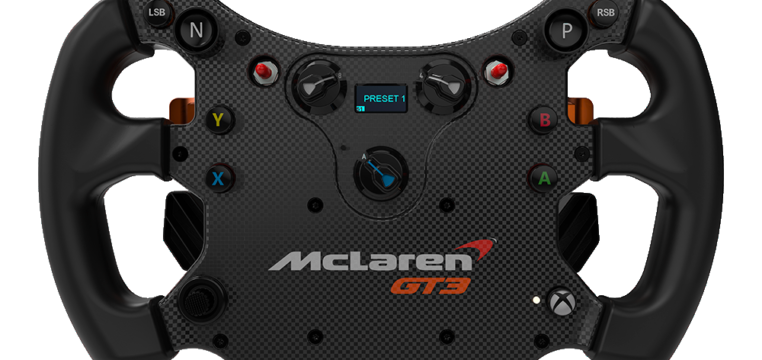 Fanatec McLaren Gt3 Wheel And Podium Direct Drive Updates